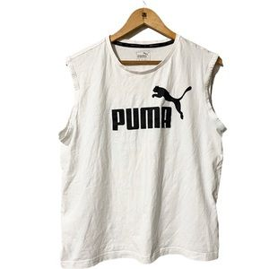 Puma Keeps you Dry Spellout Tank Top size L